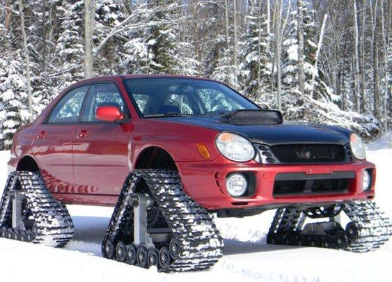 Tracked Subaru WRX