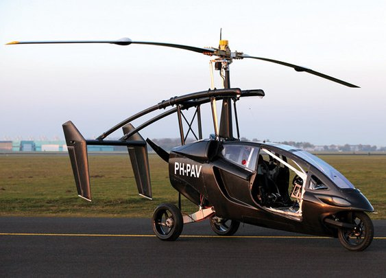 Gyrocopter/Car Hybrid