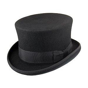 Jaxon Hats Mid-Crown Top Hat