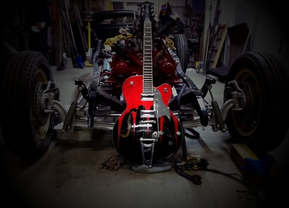Ruby V8 Custom Guitars