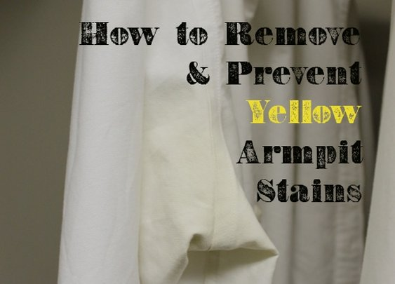 How to Remove and Prevent Yellow Armpit Stains | The Art of Manliness