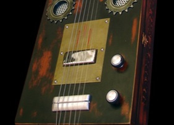Cigar Box by V8 Custom Guitars