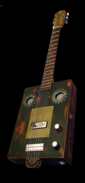 Cigar Box by V8 Custom Guitars