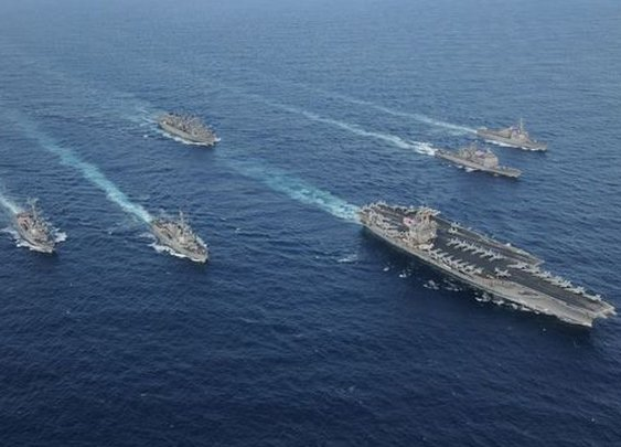 USS Enterprise carrier group