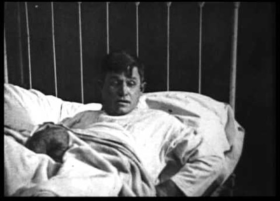 """Will Rogers in """"THE ROPIN' FOOL"""" (1922)"""