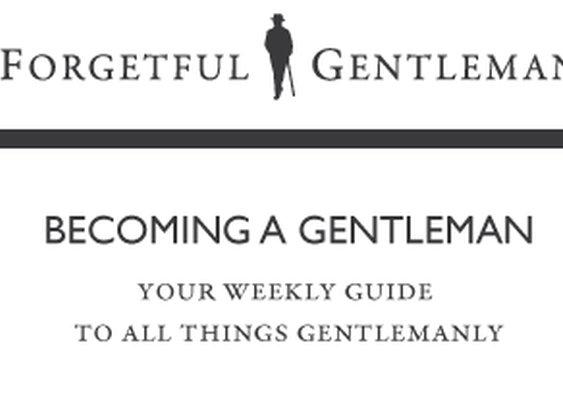 Becoming a Gentleman