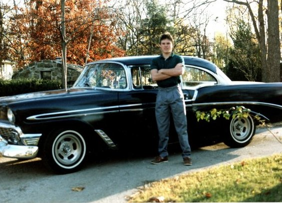 My 56 Chevy back in 1989