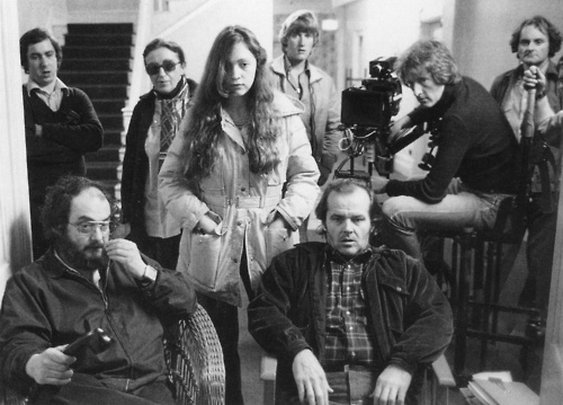 """On the set of """"The Shining"""""""
