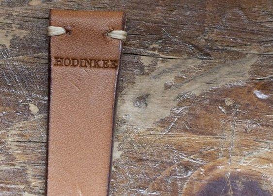 Hodinkee leather watch strap