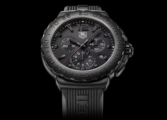 Tag Heuer Formula 1 Stealth Watch | Uncrate