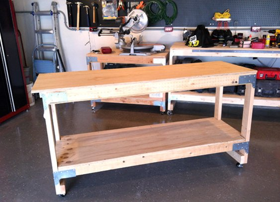 How to Make an All-Purpose Work Bench | The Art of Manliness