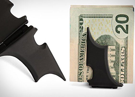 Batwing money clip