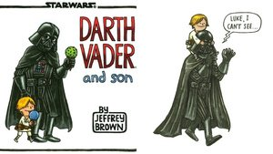 What Darth Vader Would Look Like If He Was a Good Dad