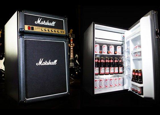 Beer cooler posing as a rock star