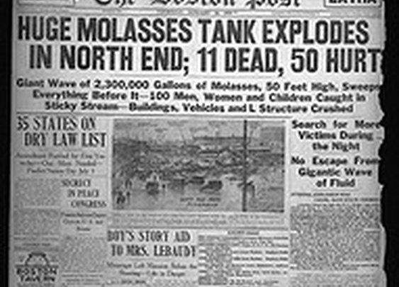 Molasses Disaster, Boston, Mass., 1919 - a set on Flickr