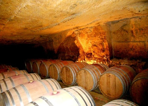 Roman Wine Caves in Bordeaux