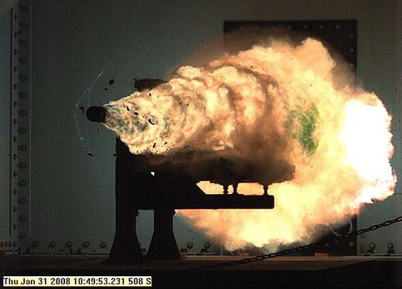 Navy tests railgun that can shoot up to 100 miles - CNET News