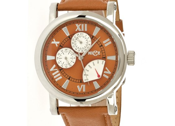 Classico Fronti Men's Watch - Brown