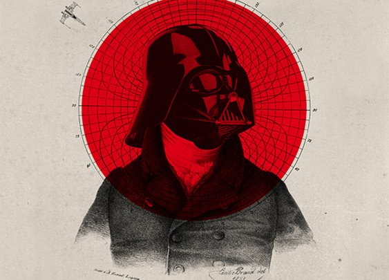 Old Time Star Wars Illustrations by Nick Agin