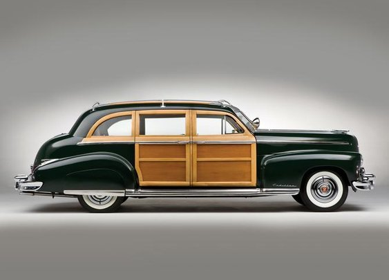 Schwartz Cadillac Series 75 Custom Limousine 1949