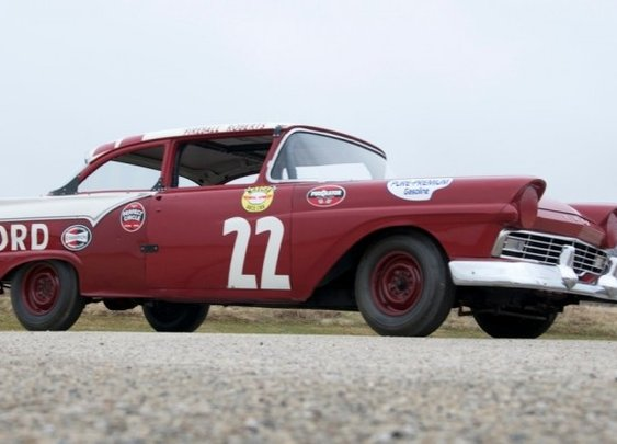 Fireball Roberts 1957 Ford