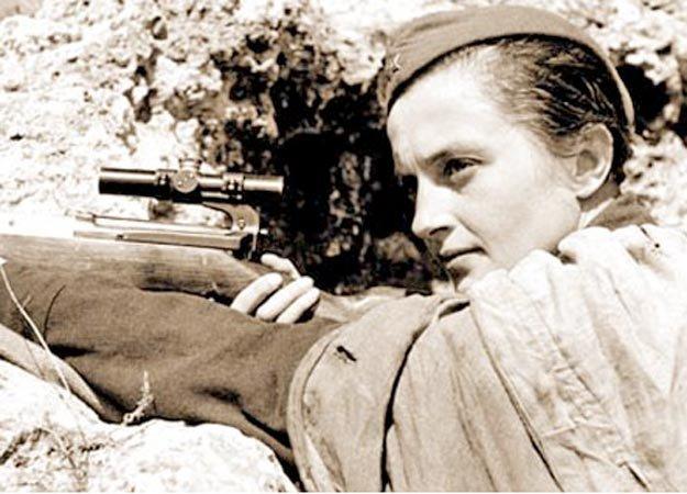 Lyudmila Pavlichenko: Top Ten Snipers