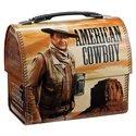John Wayne American Cowboy Retro Lunch Box