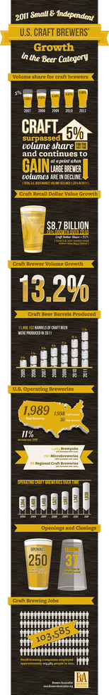 An Encouraging Craft Beer Infographic