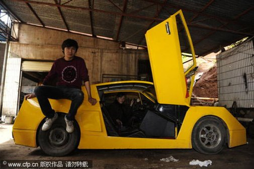 For just $3K, you too can have a homebuilt Lamborghini... sort of