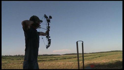 Sharpshooter amazes friends with his skills on Vimeo