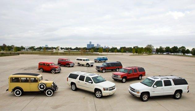 Chevrolet Suburban celebrates 75 years