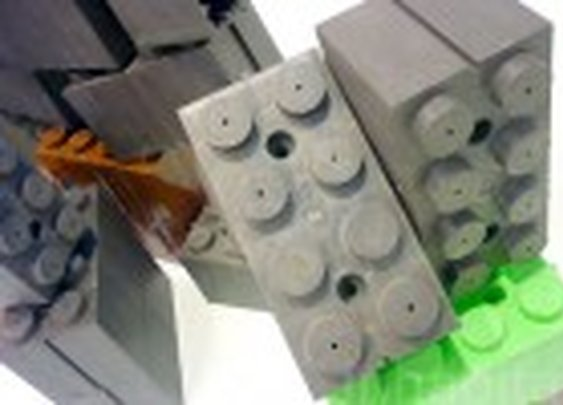 LEGO-Like Building Bricks Let You Create Your Own Castle