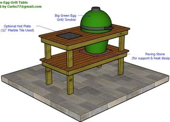 DIY Ceramic Cooker Table
