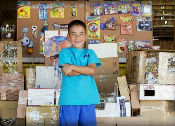 Caine's Arcade  | A cardboard arcade made by a 9-year old boy.