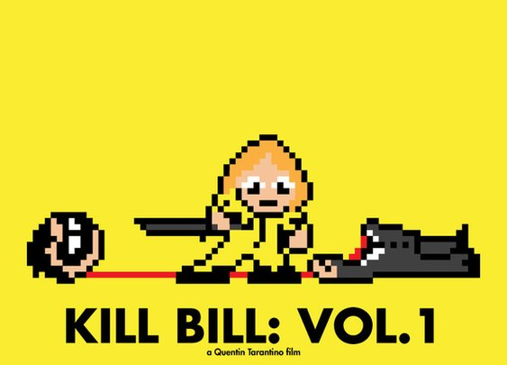 8 Bit Posters by Eric Palmer