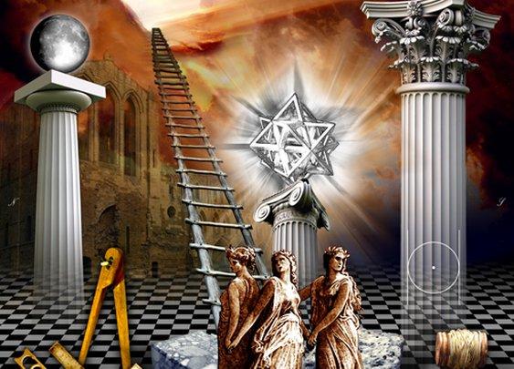 First Degree Masonic Tracing Board | FmI – Masonic Traveler