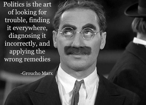Groucho Marx on Politics   Flickr - Photo Sharing!