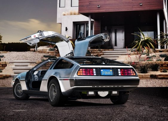 The Electric DeLorean!