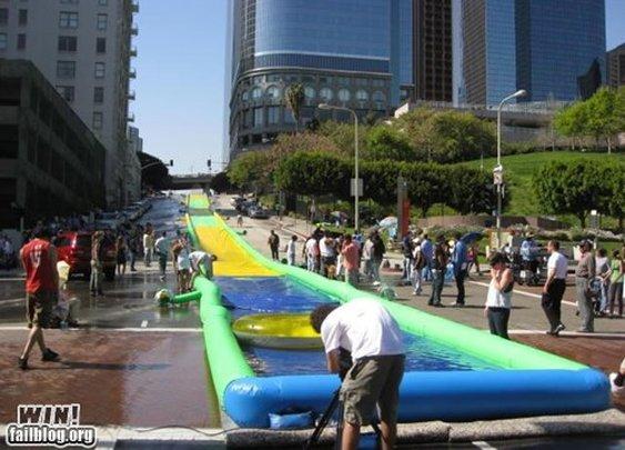 Giant Slip 'n Slide