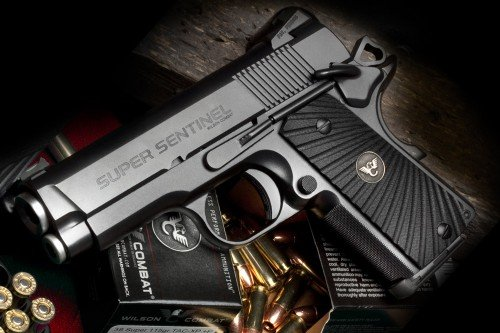Gaze upon $4k worth of pistol. The Wilson Combat Super Sentinel.   Military Times GearScout