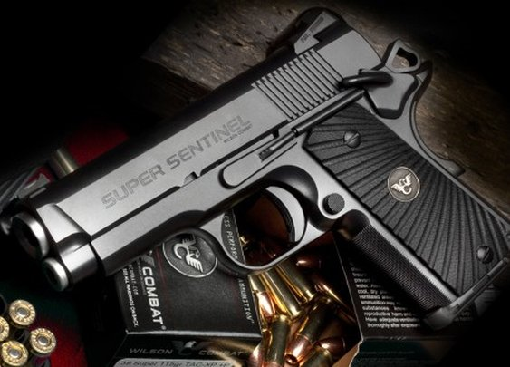 Gaze upon $4k worth of pistol. The Wilson Combat Super Sentinel. | Military Times GearScout