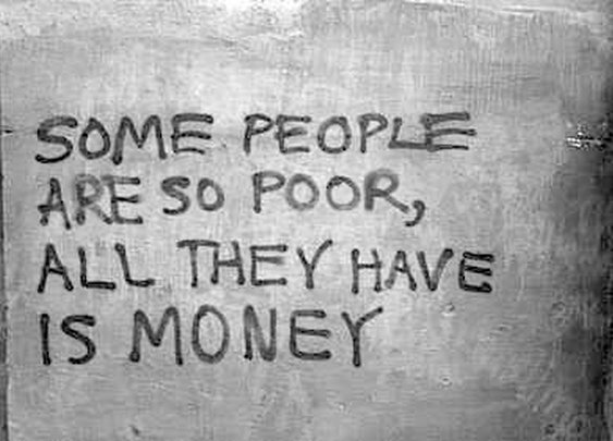 Some people are so poor...