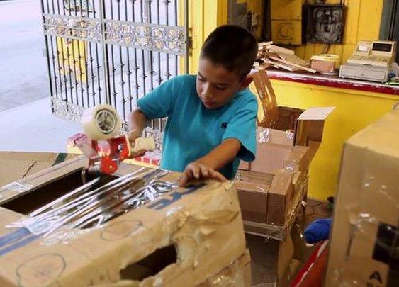 9 year old creates his own arcade