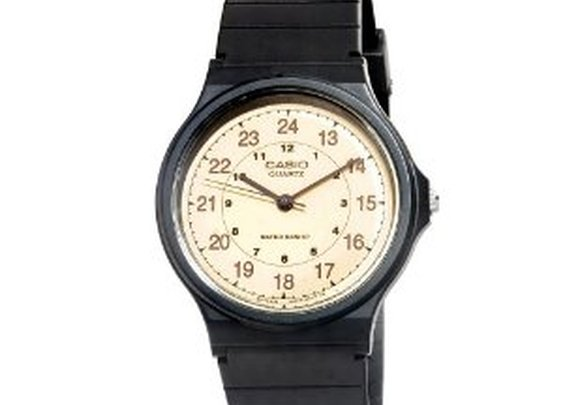 $10 Casio Men's MQ24-9B Classic Analog Watch