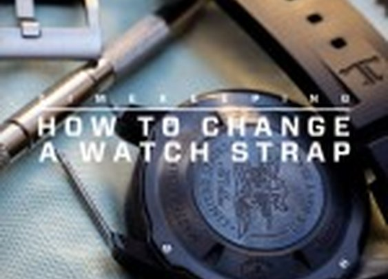 Timekeeping: How to Change a Watch Strap | Gear Patrol