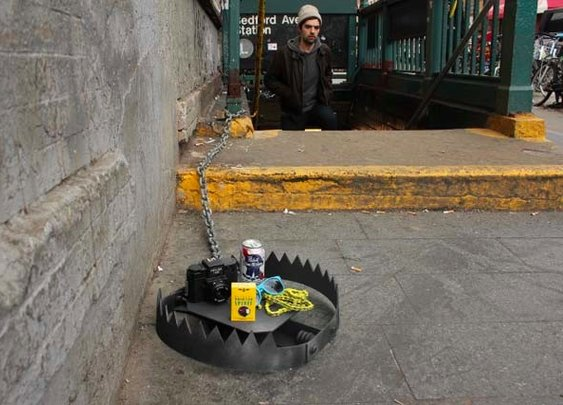 Hipster Traps Appear Around New York City