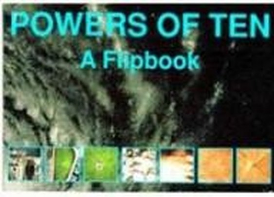 """Mid-Century / Karen bought """"Powers of Ten"""" for me long before I knew anything about Charles and Ray Eames.  Intriguing book/short film."""