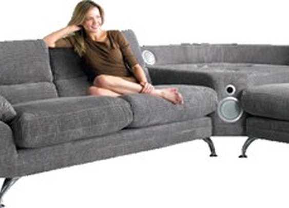 Sound Sofa is a sofa with an iPod dock
