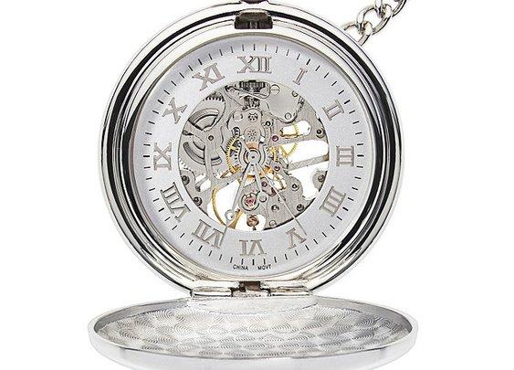 Pocket Watch – Mechanical Pocket Watch – Engravable Pocket Watch