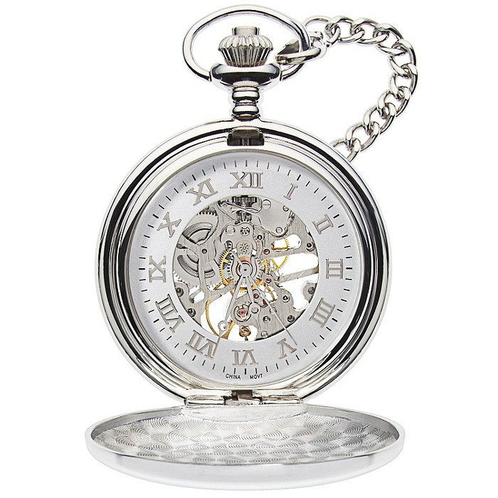 Pocket Watch – Mechanical Pocket Watch – Engravable Pocket Watch